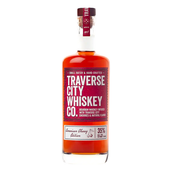 Traverse City American Cherry Bourbon - Bottle Buzz Liquor