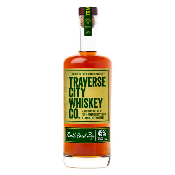 Traverse City Whiskey Co. North Coast Rye - BottleBuzz
