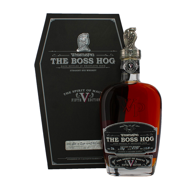 "WhistlePig The Boss Hog 5th Edition: ""The Spirit of Mauve"" - Bottle Buzz Liquor"