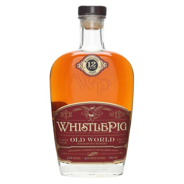 WhistlePig Old World 12 Year - Bottle Buzz Liquor
