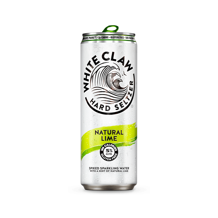 White Claw Hard Seltzer Natural Lime 6pk - Bottle Buzz Liquor