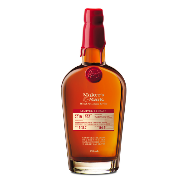 Maker's Mark Wood Finishing Series 2019 (RC6) - Bottle Buzz Liquor