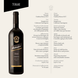 Lamborghini: Torami Umbria Red With Gift Set - Bottle Buzz Liquor