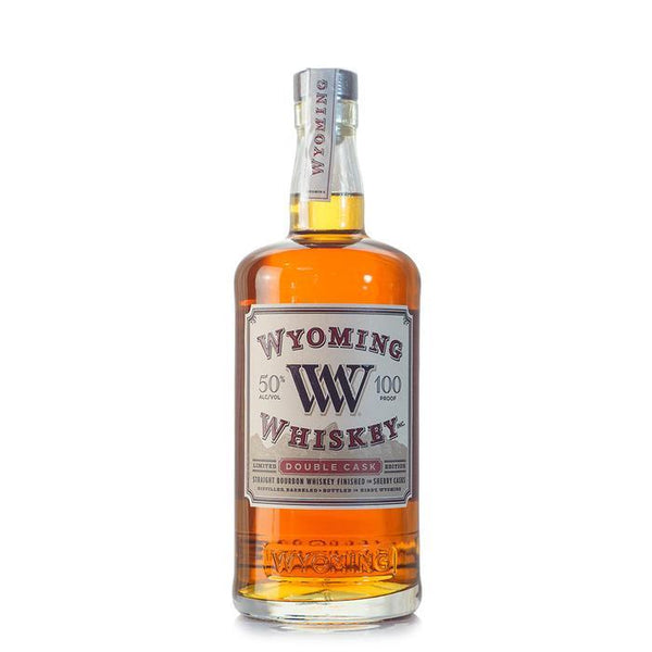Wyoming Whiskey Double Cask Sherry Finished Bourbon - BottleBuzz