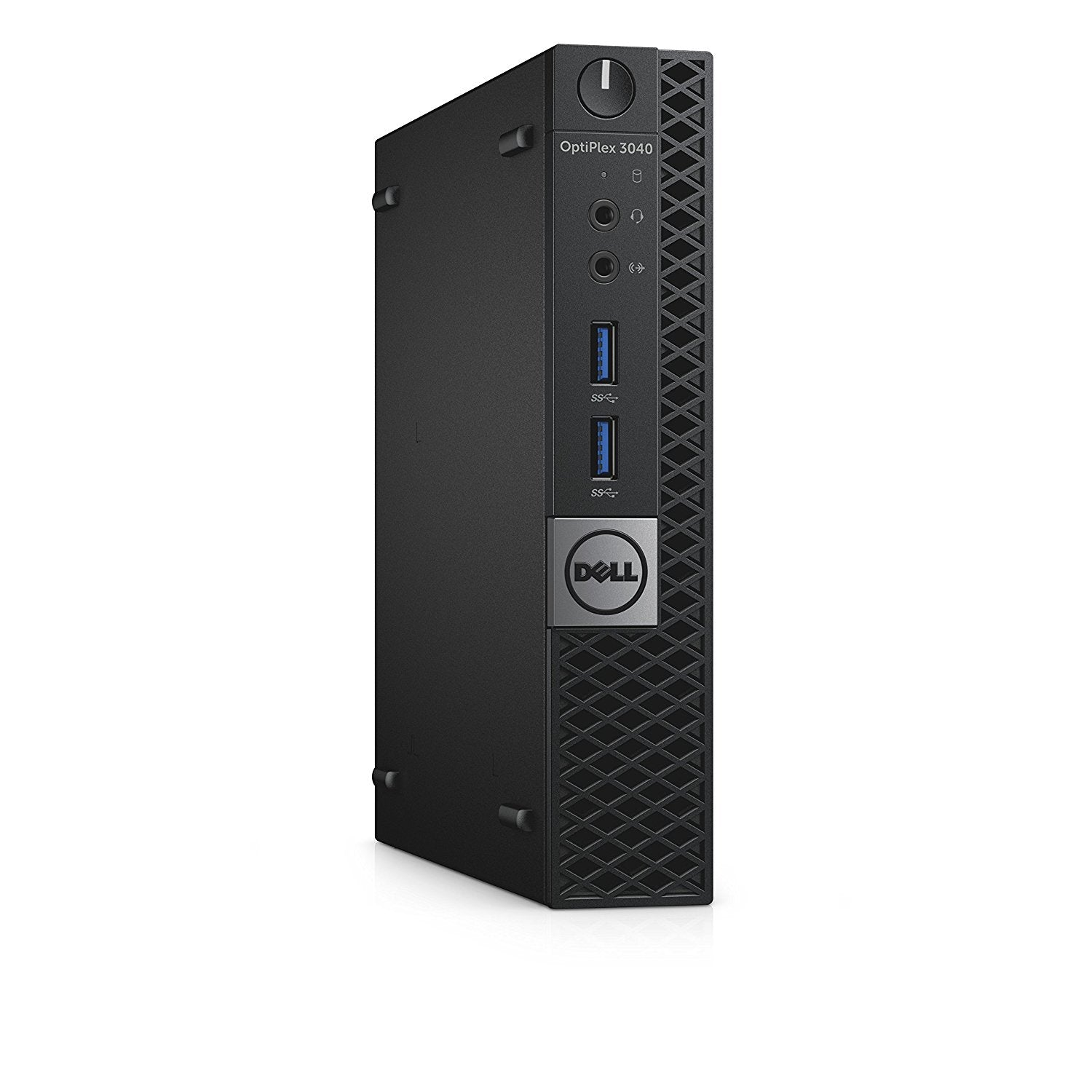 Dell OptiPlex 3040 MFF Micro Desktop 3.0 GHz Intel Core i3-6100T, 8 GB RAM, 500 GB HDD, Windows 10 Home