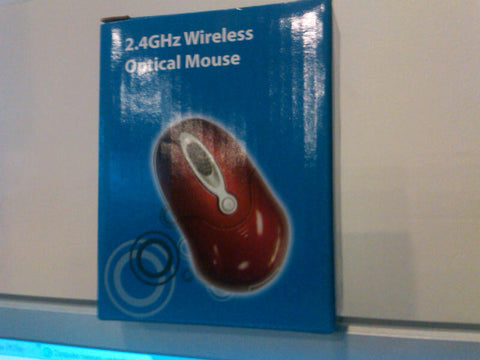 New In Box WIRELESS Optical Mouse