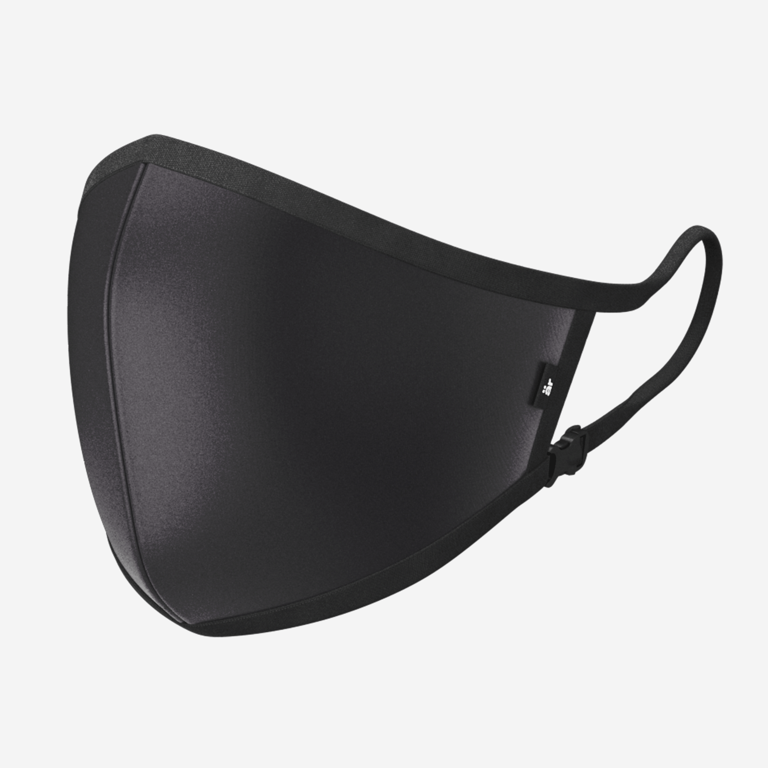 Self-cleaning Face Mask With Nano-filter är Small Logo Black