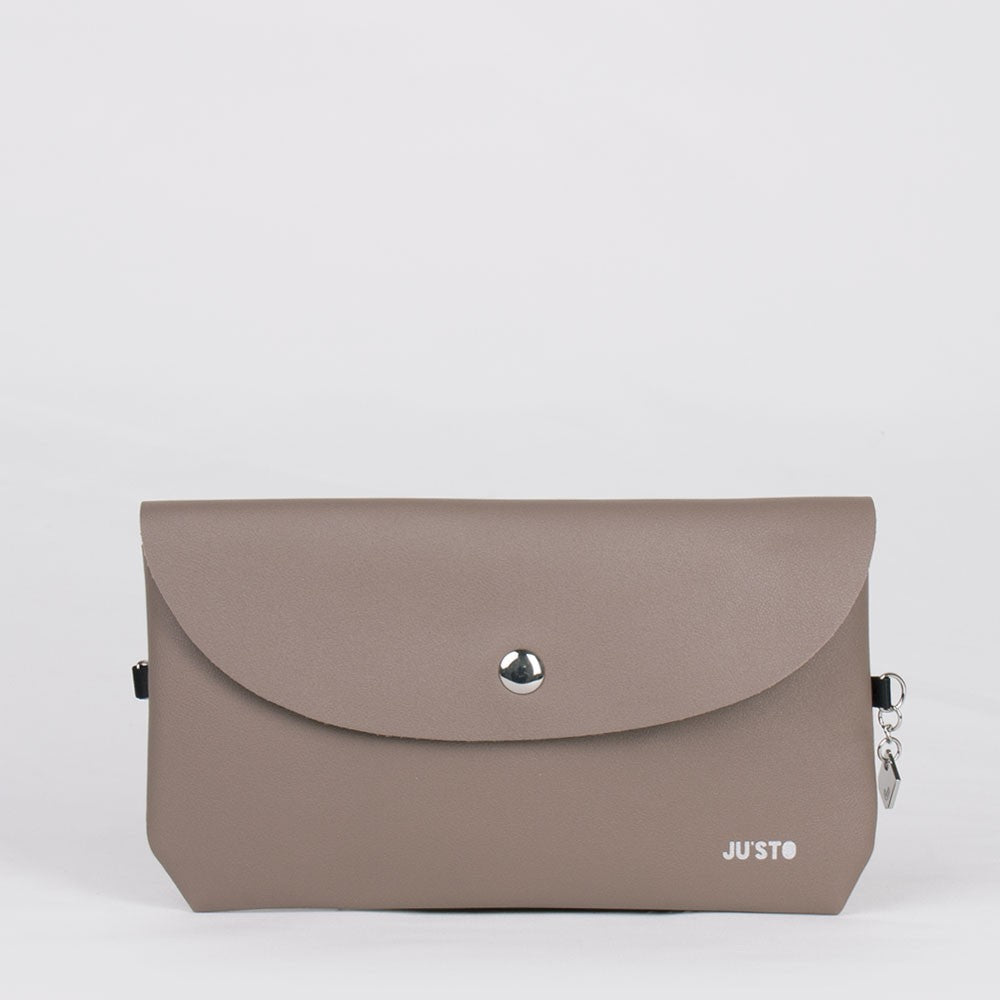 J- POSH BAG DOUBLE TAUPE