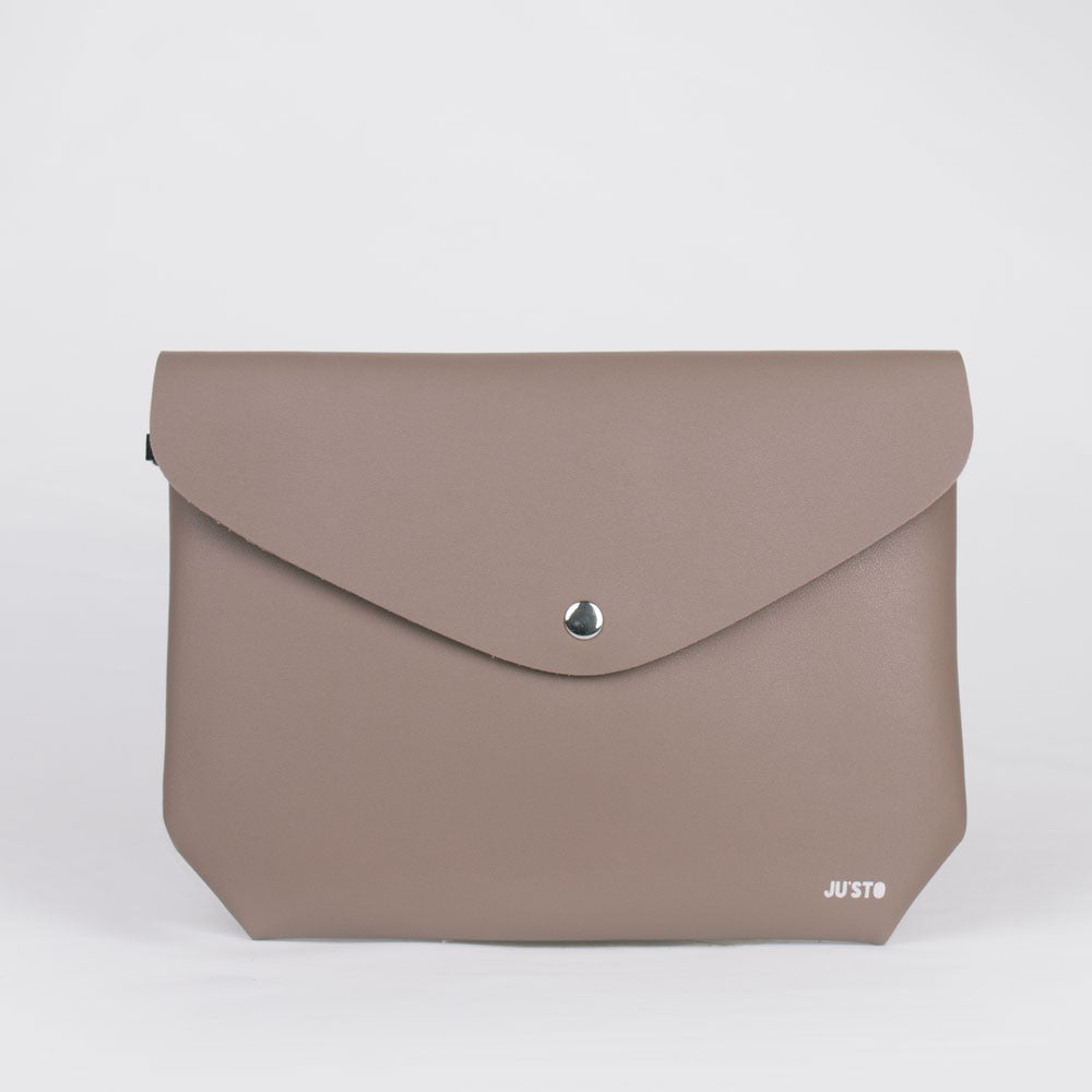 J- CLUTCH DOUBLE TAUPE