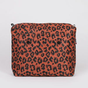 SACCA INTERNA WIDE SPOTTED ARANCIO