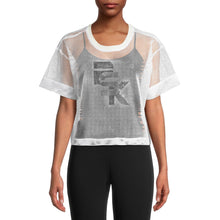 Load image into Gallery viewer, PSK Collective Women's Juniors' Mesh Logo Jersey