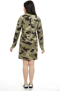 PSK Collective Long Sleeve Camo Tunic
