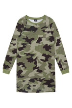 Load image into Gallery viewer, Long Sleeve Camo Tunic