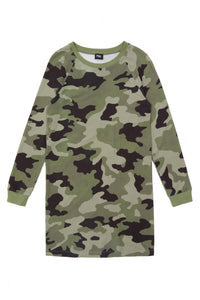 Long Sleeve Camo Tunic
