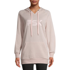 PSK Collective Women's Juniors' Oversized Hoodie Sweatshirt
