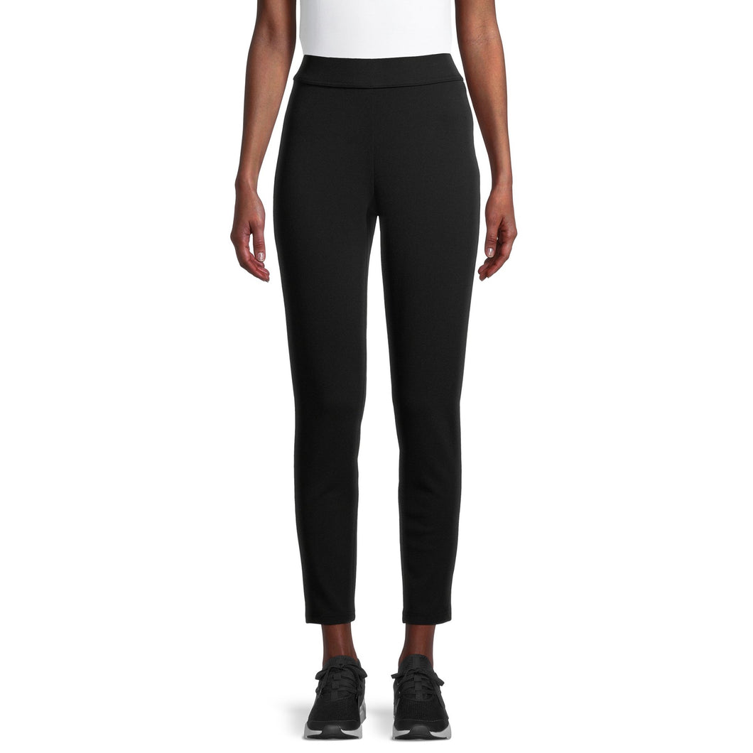 PSK Collective Women's Juniors' Ponte Knit Pants