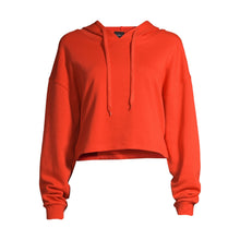 Load image into Gallery viewer, PSK Collective Women's Juniors' Terry Cropped Hoodie Sweatshirt