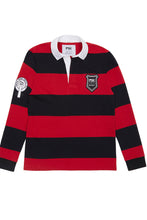 Load image into Gallery viewer, Equal Pay Red Stripe Authentic Rugby Jersey