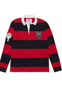 Equal Pay Red Stripe Authentic Rugby Jersey