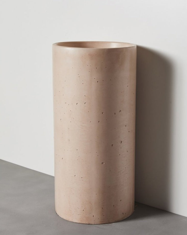 Load image into Gallery viewer, COMO FREESTANDING CONCRETE BASIN DUSTY PINK
