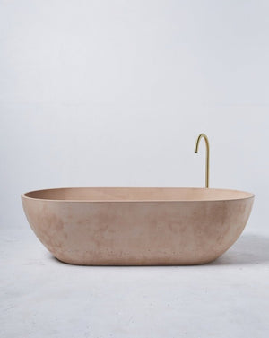 Load image into Gallery viewer, Concrete Freestanding Bath - Concrete Nation Valencia Bathtub in Nude