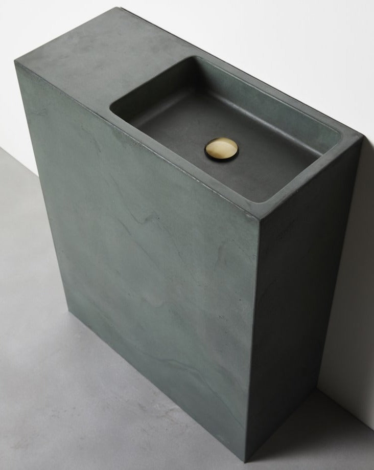 CONCRETE NATION DELPHI FREESTANDING CONCRETE BASIN