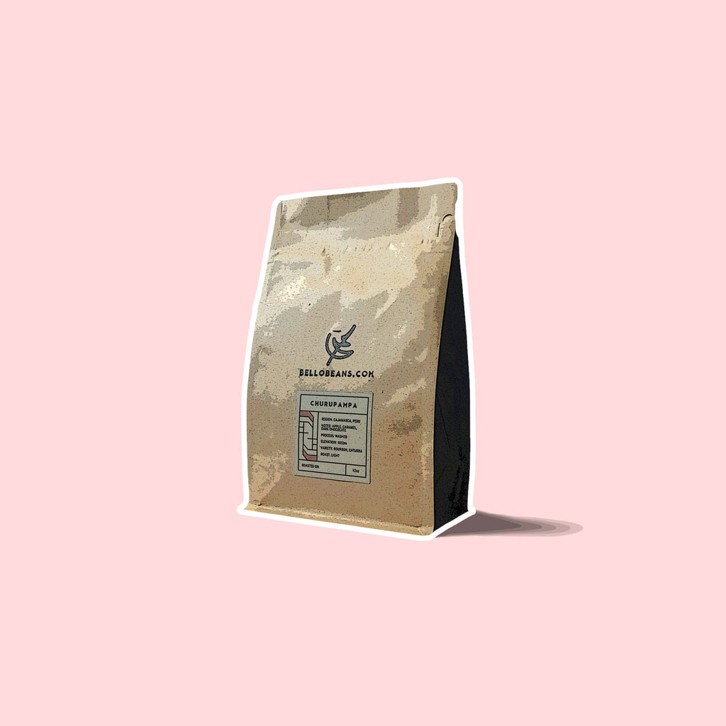 Finca Peru Churupampa organic coffee bean bag