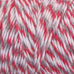 Candy Stripes Bakers Twine 4-Ply 1 Spool/100 Yards Red/Grey/White Trio
