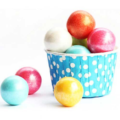 Pack of 20 Polka Dots Sky Blue/White Baking Candy Cups