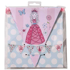 Princess & Kitty Bunting Banner with Triangle Pennants