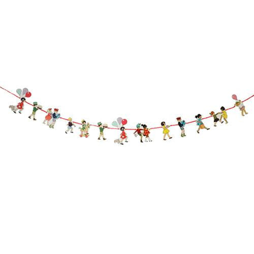 Belle & Boo Party Bunting Banner with Character-shaped Pennants