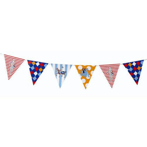 Brave Knight Bunting Banner with Triangle Pennants