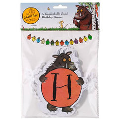 The Gruffalo Bunting Banner with Gruffalo-shaped Pennants