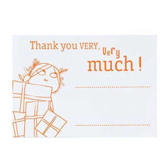 Charlie and Lola Pack of 8 Thank You Cards & Envelopes