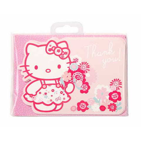 Hello Kitty Pack of 10 Thank You Cards & Envelopes