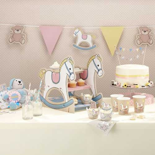Rocking Horse 3 Tier Cake Stand Rock-a-bye Baby