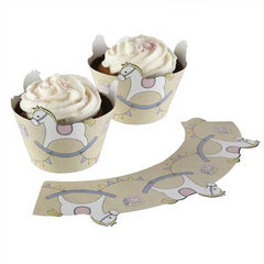 Rock-a-bye Baby Pack of 10 Cupcake Wrappers