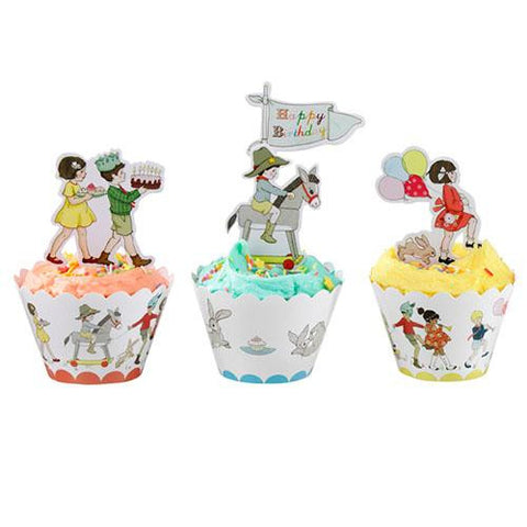 Belle & Boo Pack of 24 Cupcake Wrappers