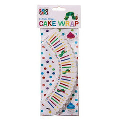 The Very Hungry Caterpillar Pack of 24 Cupcake Wrappers