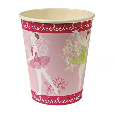 Little Ballet Dancer Pack of 12 Party Beverage Cups 9oz (250ml)
