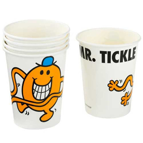 Mr. Men Pack of 8 Party Beverage Cups