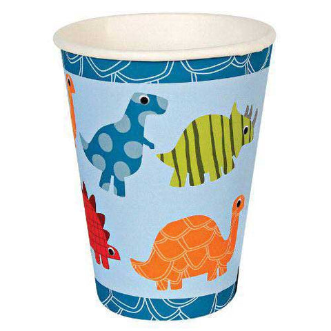Roarrrrr Dinosaur Pack of 12 Party Beverage Cups 9oz (250ml)
