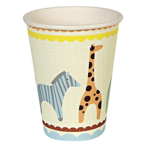 Animal Parade Pack of 12 Party Beverage Cups 9oz (250ml)