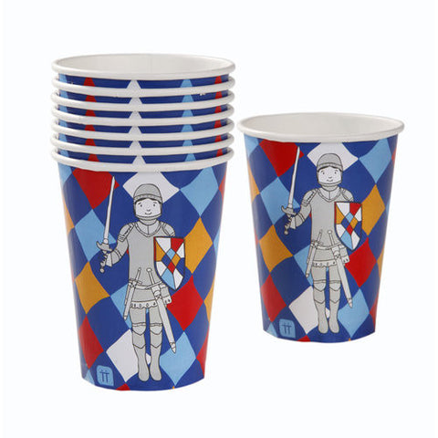 Brave Knight Pack of 8 Party Beverage Cups
