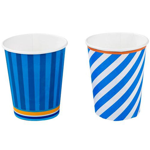 Cool Blue Pack of 8 Party Beverage Cups