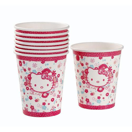 Hello Kitty Super Cute Pack of 8 Party Beverage Cups