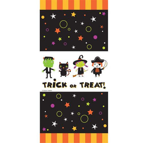 Halloween Cute Tiny Terrors Pack of 20 Favor Treat Bags with Tie Fasteners