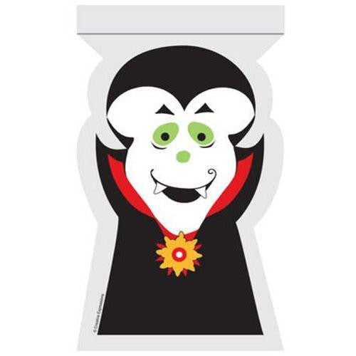 Halloween Cute Vampire Pack of 12 Self-seal Favor Treat Bags