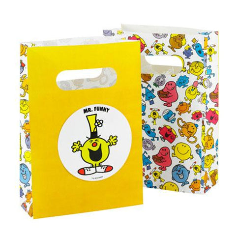 Mr. Men Pack of 8 Favor Treat Bags