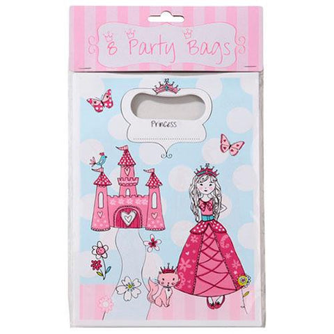 Princess & Kitty Pack of 8 Favor Treat Bags